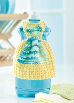 ePattern Dress with Apron Dishcloth Dress