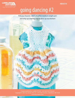 ePattern Going Dancing #2 Dishcloth Dress