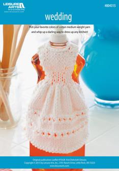 ePattern Wedding Day Dishcloth Dress