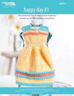 ePattern Happy Day #1 Dishcloth Dress