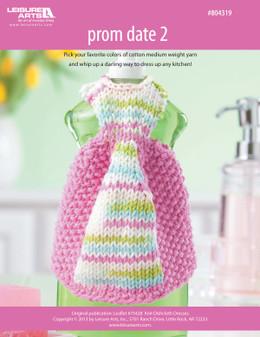 ePattern Prom Date #2 Dishcloth Dress