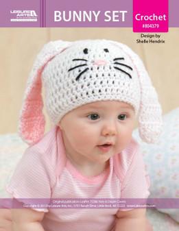 ePattern Bunny Hat/Diaper Set