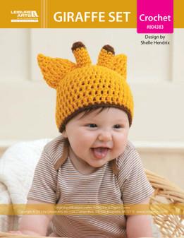 ePattern Giraffe Hat/Diaper Set