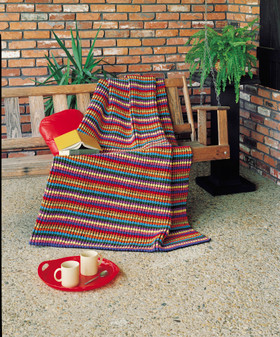ePattern Stained Glass Afghan