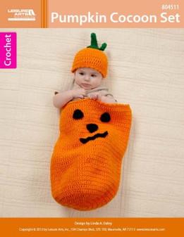 ePattern Pumpkin Cocoon Set