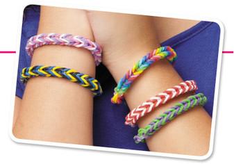 ePattern Fishtail Rubber Band Bracelet
