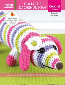 ePattern Dolly the Dachshund Toy