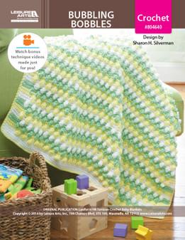 ePattern Bubbling Bobbles Baby Blanket