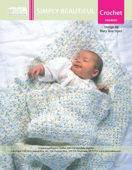 ePattern Simply Beautiful Baby Afghan