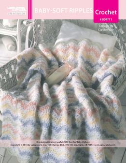 ePattern Baby Soft Ripples Baby Afghan