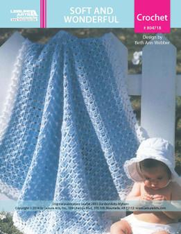 ePattern Soft & Wonderful Baby Afghan