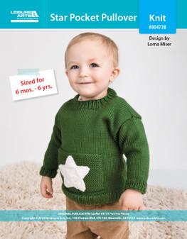ePattern Star Pocket Pullover
