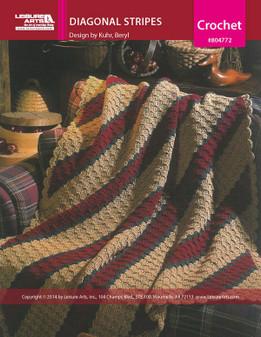 ePattern Diagonal Stripes Afghan