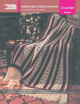 ePattern Handsome Stripes Afghan