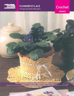 ePattern Flowerpot Lace