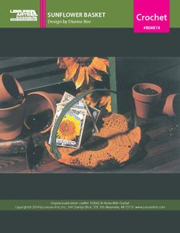 ePattern Sunflower Basket