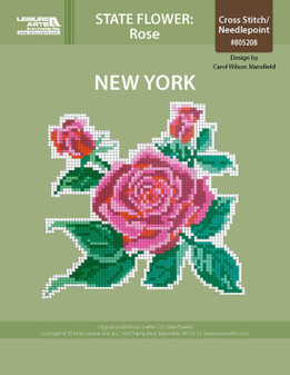 ePattern State Flowers: New York Rose