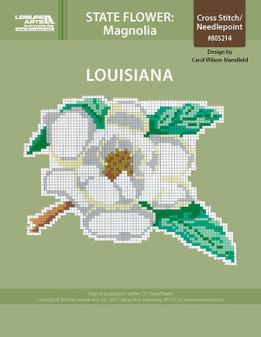 ePattern State Flowers: Louisiana Magnolia