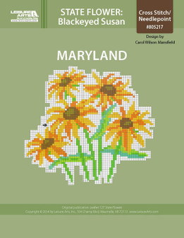 ePattern State Flowers: Maryland Blackeyed Susan