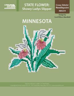 ePattern State Flowers: Minnesota Showy Ladys Slipper