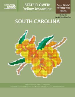 ePattern State Flowers: South Carolina Yellow Jessamine