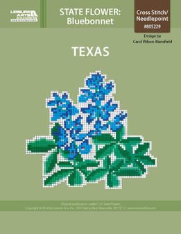 ePattern State Flowers: Texas Bluebonnet