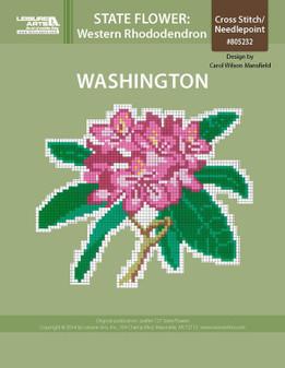 ePattern State Flowers: Washington Western Rhododendron