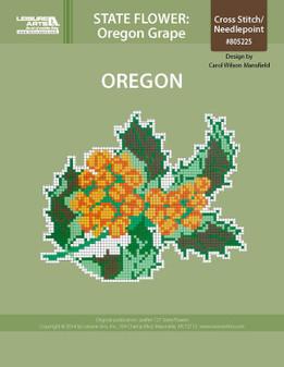 ePattern State Flowers: Oregon Oregon Grape