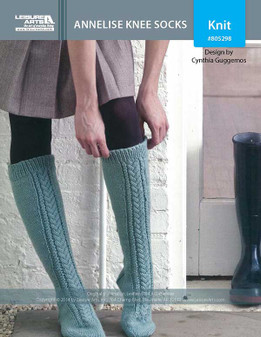 ePattern Annelise Knee Socks