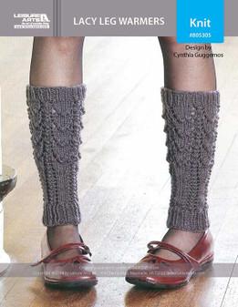 ePattern Lacy Leg Warmers
