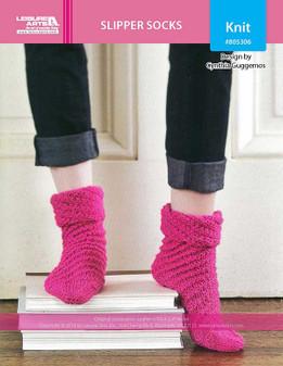 ePattern Slipper Socks
