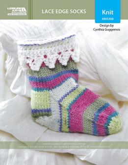 ePattern Lacy Edge Socks