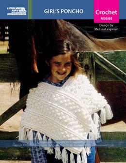 ePattern Girl's Poncho