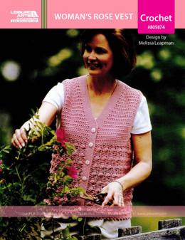 ePattern Woman's Rose Vest