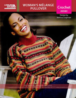 ePattern Woman's Melange Pullover