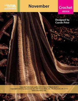 ePattern A Year of Afghans, Book 5 - November