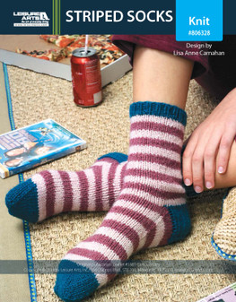 ePattern Striped Socks