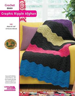 ePattern Ripple Afghan