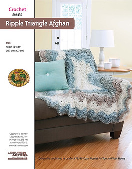 ePattern Ripple Triangle Afghan