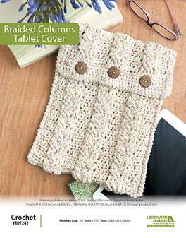 ePattern Braided Columns Tablet Cover