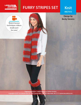 ePattern Furry Stripes Set