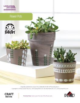 ePattern Flower Pots