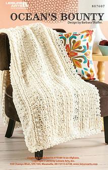 Oceans bounty crochet afghan epattern