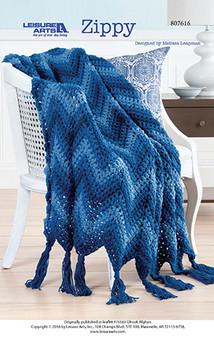 Zippy Crochet Afghan ePattern