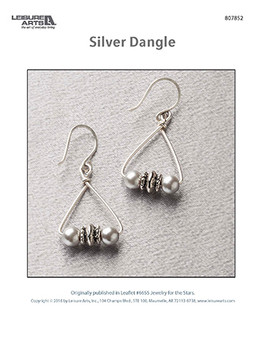 Craft and create stylish sliver dangle earrings for any occasion.