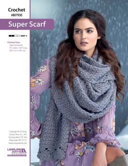 ePattern Super Scarf to Crochet