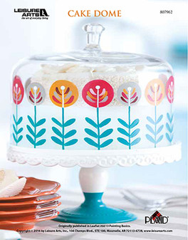 Have your cake and craft a dome for it too with a painting ePattern that will guide you to paint and display the sweetest of treats!
