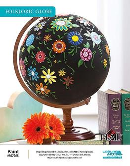 ePattern Folkloric Globe