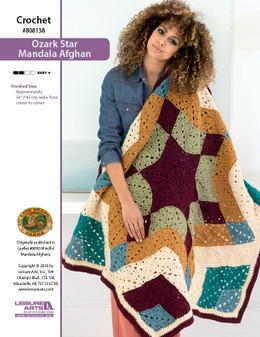 ePattern Ozark Star Mandala Afghan