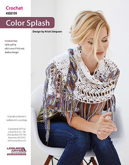 Make a splash with stitched color splash!